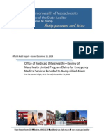 Audit Report - Office of Medicaid (MassHealth) – Review of the MassHealt...