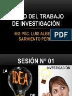 Clases Diseño Del Trabajo de Investigaciòn-cajamarca 2014 1