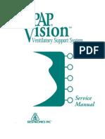 Respironics BiPAP Vision Service Manual
