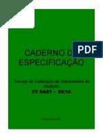 Especificacao Tecnica Dast0210