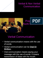 Oral & Non Verbal Communication