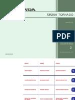 Honda Xr250 Tornado 01-02 Fiche