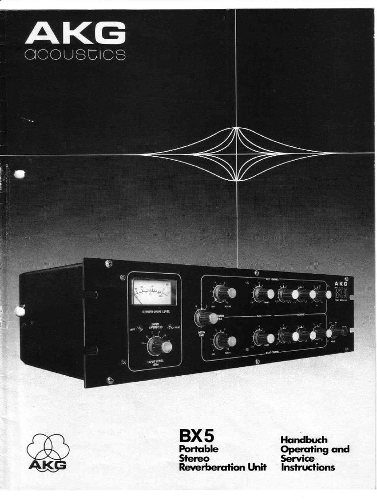Akg Bx5 Audio Engineering Sound Recording M Bx5a Circuit Diagram