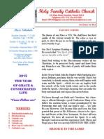 hfc december 14 2014 bulletin
