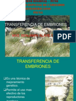 9. Transferencia de Embriones Principal