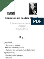 Ecuación de Fokker-Planck