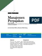 Modul 1 Manajemen Perpajakan