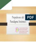 Prepulsores Del Paradigma Sistémico PPT
