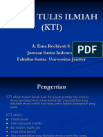 Karya Tulis Ilmiah (Kti)