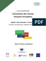 Produit Final - 10 Rêves Pour l'Europe - Convention Des Jeunes Citoyens Europeens 2014 - Version Francaise