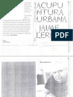 Acupuntura Urbana. Jaime Lerner-libre