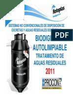 Biodigestor Rotoplast Procom