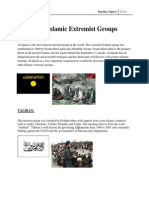 islamic extremist groups for weebly