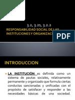 RESPONSABILIDAD SOCIAL DE LAS INSTITUCIONES Y ORGANIZACIONES.ppt