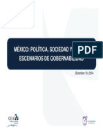 GEA ISA. ESTUDIO MEXICO POLITICA. SOCIEDAD Y CAMBIO. VERSIÓN COMPLETA