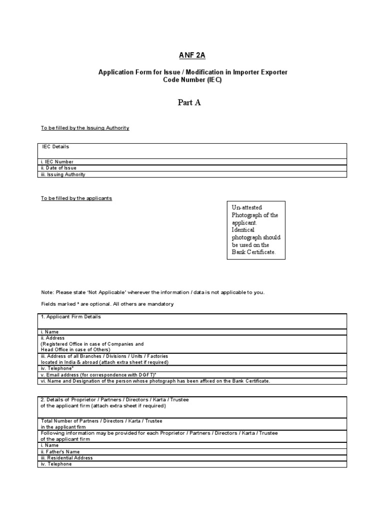 Application form for issue modification in business economies yelopaper Gallery