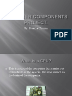 central processing unit project
