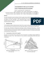 Zinc coating info