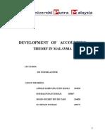 Accounting Theory Development