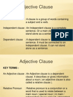 6 Adjective Clause