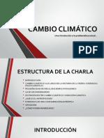 Cambio Climático (presentación cátedra de Geomorfología)