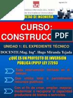 CLASE 2 ( expediente tecnico)