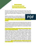 Discurso 5 de Julio 2014 - General en Jefe Vladimir Padrino López - Comandante Estratégico Operacional de La FANB