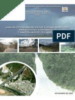 Manual CA de Normas Ambientales SIECA