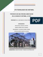 Propuesta de Subestación Eléctrica