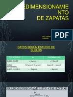 Calculo de Zapatas