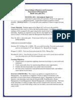mgmt ba 4911 internship syllabus and portfolio packet--spring 2014