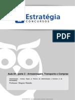 04-2 - Noções de Armazenagem. Modalidades de Compras e Transporte