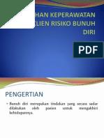 ASUHAN KEPERAWATAN PADA KLIEN RISIKO BUNUH DIRI.pptx