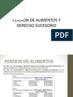 Pension de Alimentos y Derecho Sucesorio