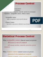 TQM - Statistical Process Control
