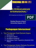 Topik v Teori Perdagangan Internasional