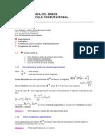 Metodos Numericos - Benjavala Teoria Del Error y Calculo Computacional