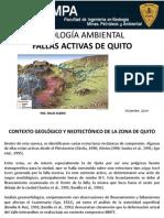 Fallas Activas de Quito