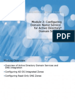 6425A_02 Configuring DNS for Active Directory Domain Services