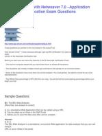 Sample SAP BI With Netweaver 7