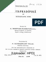 Sruta Pradipika