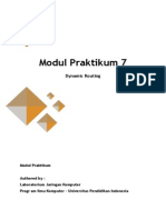Modul 7 - Dynamic Routing