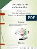 Aplicaciones de Las Redes Neuronales