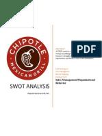 Chipotle SWOT Analysis 2014