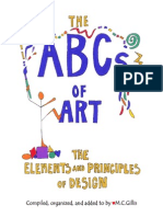 book abcsofart elementsandprinciplesofdesign