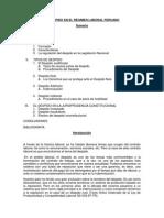 Monografía El Despido