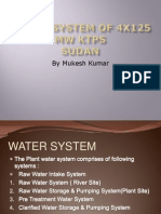 Water System of 4x125 MW KTPS, Sudan