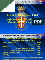prioiezione dati 2009