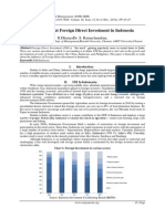 A Study about Foreign Direct Investment in Indonesia