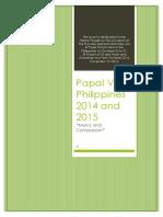 Papal Visit Philippines 2014-2015